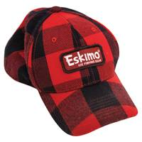 Eskimo Men's Red and Black Buffalo Plaid Cap from Blain's Farm and Fleet