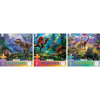 Ceaco 300-Piece Oversized Prehistoria Puzzle Assortment from Blain's Farm and Fleet