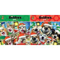 Ceaco 550-Piece Holiday Selfies Puzzle Assorted from Blain's Farm and Fleet