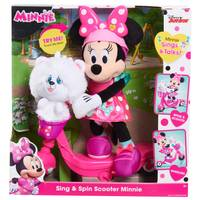 Disney Junior Sing and Spin Scooter Minnie Feat Plush from Blain's Farm and Fleet