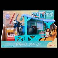 Spirit Horse Stable and Accessory Set from Blain's Farm and Fleet
