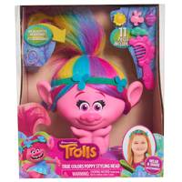 Trolls Poppy Styling Head from Blain's Farm and Fleet
