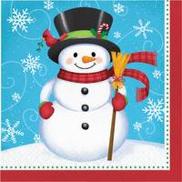 Creative Converting 16 Count Snowman Penguin Lunch Napkins from Blain's Farm and Fleet