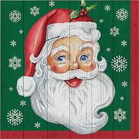Creative Converting 16-Count Nostalgic Santa Lunch Napkin from Blain's Farm and Fleet