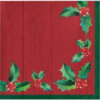 Creative Converting 16 Count Nostalgic Santa Beverage Napkins from Blain's Farm and Fleet
