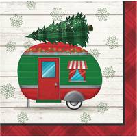 Creative Converting 16 Count Christmas Classics Beverage Napkins from Blain's Farm and Fleet