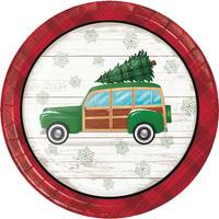 Creative Converting 8 Count Christmas Classics Luncheon Plates from Blain's Farm and Fleet