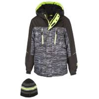 ZeroXposur Boy's Subzero Snowboard Jacket Black from Blain's Farm and Fleet
