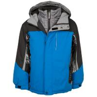 ZeroXposur Boy's Storm System Jacket Blue from Blain's Farm and Fleet