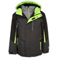 ZeroXposur Boy's Storm System Jacket Slate from Blain's Farm and Fleet
