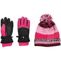 ZeroXposur Girl's Riley Glove & Beanie Set Black from Blain's Farm and Fleet