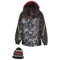 ZeroXposur Boy's Racer Snowboard Jacket Black from Blain's Farm and Fleet