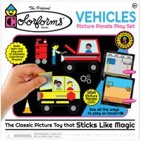 Colorforms Play Set Vehicles from Blain's Farm and Fleet