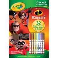 Crayola Incredibles Color & Activity Book from Blain's Farm and Fleet