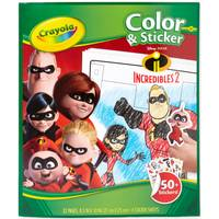 Crayola Incredibles Color & Sticker Book from Blain's Farm and Fleet
