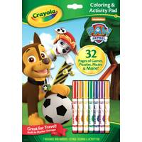 Crayola Paw Patrol Color & Activity Book from Blain's Farm and Fleet
