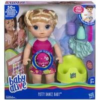 Hasbro Baby Alive Potty Dance Blonde Baby from Blain's Farm and Fleet