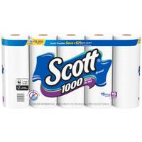 Scott 15-Pack 1000-Sheet Bath Tissue from Blain's Farm and Fleet