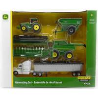 Tomy 1:64 John Deere Harvesting Set from Blain's Farm and Fleet