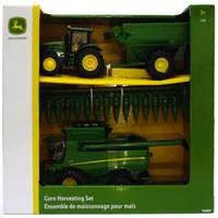 Tomy 1:32 John Deere Corn Harvesting Set from Blain's Farm and Fleet