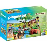Playmobil Country Horseback Ride from Blain's Farm and Fleet