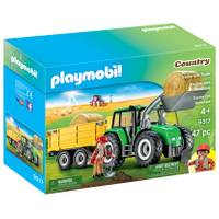 Playmobil Tractor With Trailer from Blain's Farm and Fleet