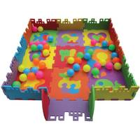 Verdes Ball Pit Foam Playmat with 40 Balls from Blain's Farm and Fleet