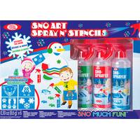 Ideal Sno-Art Spray N' Stencils from Blain's Farm and Fleet