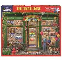 White Mountain Puzzles 1000-Piece Old Time Shopping Puzzle Assortment from Blain's Farm and Fleet