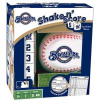 MasterPieces Milwaukee Brewers Shake N Score from Blain's Farm and Fleet