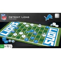 MasterPieces Detroit Lions Checkers Game from Blain's Farm and Fleet