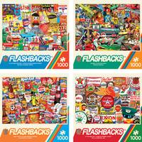 MasterPieces 1000-Piece Flashbacks Puzzle Assortment from Blain's Farm and Fleet