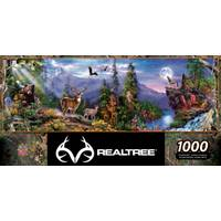 MasterPieces 1000-Piece Realtree Panoramic Puzzle from Blain's Farm and Fleet