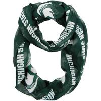 All Star Sports Michigan State Spartans Sheer Infinity Scarf from Blain's Farm and Fleet