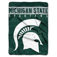 All Star Sports Michigan State Spartans 60x80 Blanket from Blain's Farm and Fleet