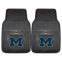 All Star Sports University of Michigan Wolverines 2-Piece Vinyl Car Mats from Blain's Farm and Fleet