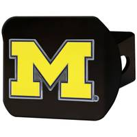 All Star Sports University of Michigan Wolverines University Clear Hitch Black from Blain's Farm and Fleet