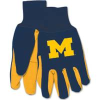 All Star Sports University of Michigan Wolverines Utility Work Gloves from Blain's Farm and Fleet
