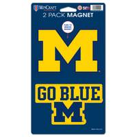 All Star Sports University of Michigan Wolverines 2-Pack Die Cut Magnets from Blain's Farm and Fleet