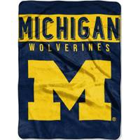 All Star Sports University of Michigan Wolverines 60x80 Blanket from Blain's Farm and Fleet