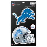 All Star Sports Detroit Lions  2-Pack Die Cut Magnets from Blain's Farm and Fleet