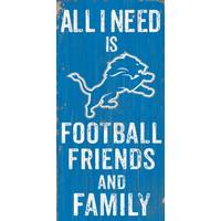 All Star Sports Detroit Lions Football, Family & Friends Sign from Blain's Farm and Fleet
