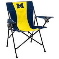 Logo Chairs Michigan Wolverines Pregame Chair from Blain's Farm and Fleet
