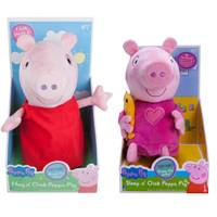Jazwares Peppa Pig Plush Assortment from Blain's Farm and Fleet
