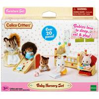 Epoch Everlasting Play Calico Critters Baby Nursery Set from Blain's Farm and Fleet