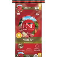 Purina One 40 lb Smartblend Lamb and Rice Dog Food from Blain's Farm and Fleet