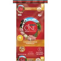 Purina One 40 lb Smartblend Chicken and Rice Dog Food from Blain's Farm and Fleet