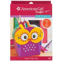 American Girl Owl Felt Storage Kit from Blain's Farm and Fleet