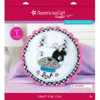 American Girl French Bulldog Pillow Kit from Blain's Farm and Fleet