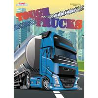 Kappa Tough Trucks Coloring Books Assortment from Blain's Farm and Fleet